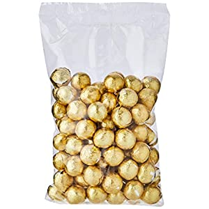 chocolate factory gold foil wrapped milk ball 100-pieces 420 g Chocolate Factory Gold Foil Wrapped Milk Ball 100-Pieces 420 g 4193SumK 4L