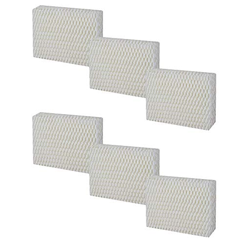 Mumaxun 12pcs Replacement for WF813 Humidifier Filter fit Relion RCM-832N & ProCare PCCM-832N, Duracraft DH-830, Robitussin DH-832, Sesame Street SH100 & SH200