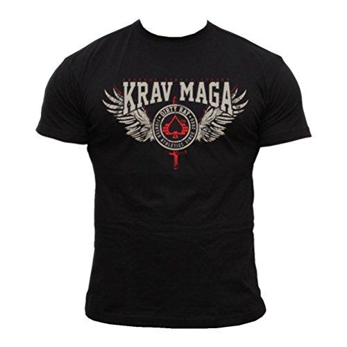 Dirty Ray Artes Marciales Krav Maga camiseta hombre T-shirt DT13