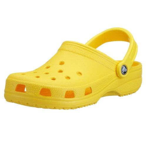 Crocs Unisex-Erwachsene Classic' Clogs, Gelb (Yellow), 46/47 EU