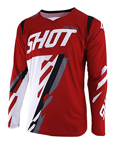Shot-shirt. XL Rood Wit