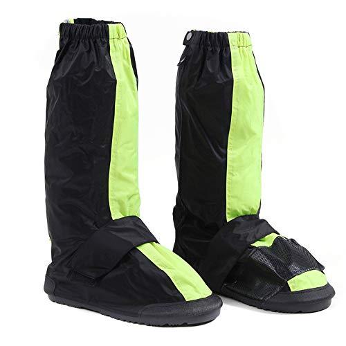 Cubiertas de zapatos de ciclismo unisex Antideslizante reutilizable Cremalleras guardapolvos for mujer for hombre de deportes al aire libre Ciclo Temporal de lluvia Tormenta de nieve de la bici Jardín