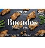 Bocados Mediterráneos HEURA 180g | 100% Vegetal | Sin Gluten (Pack de 2)