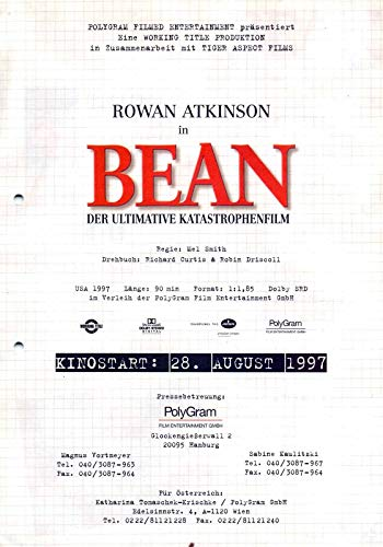 Bean - Der ultimative Katastrophenfilm - Pamela Reed - Presseheft