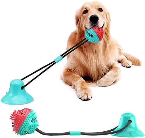 Juguetes para cachorros para entrenamiento molar, juguetes de cuerda de dentición para perros con...