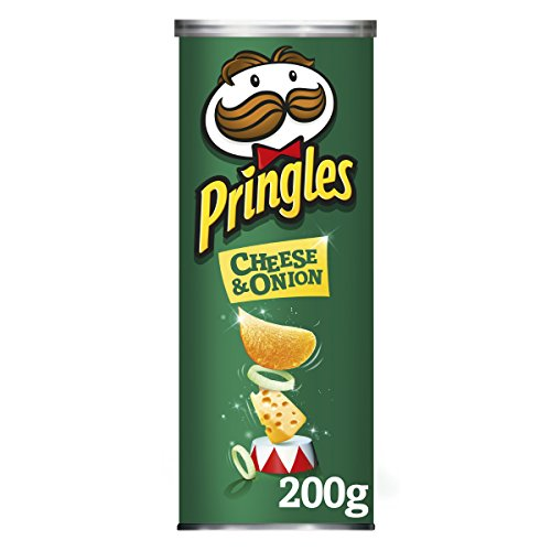 Pringles Pringles Cheese & Onion Chips, 200 g