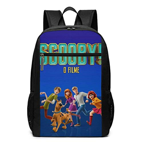 WLQP Scooby 4 Beautiful Adult Backpack School Bag for Traveling