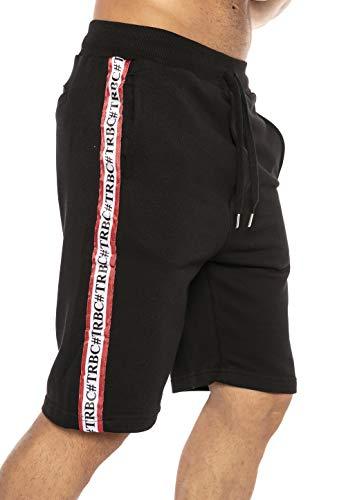 Redbridge Pantalón Corto Rayas Deportivo para Hombre Verano Moda Gym Shorts
