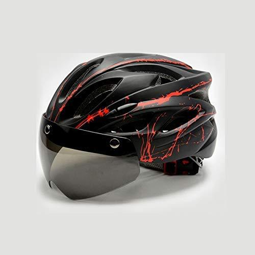 Casco de bicicleta, a prueba de viento Casco de Ciclista con los...