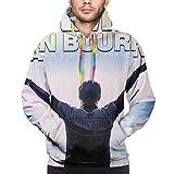 Sudadera con capucha para hombre con estampado 3D de Armin Van Buuren, con bolsillos con cordón