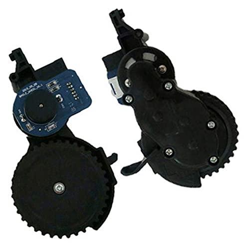 piao Piao Robot Partes de aspirador izquierda derecha Motor de repuesto para Vileda VR302 Robot Partes de aspirador Accesorios Rueda Motor (Color: R)