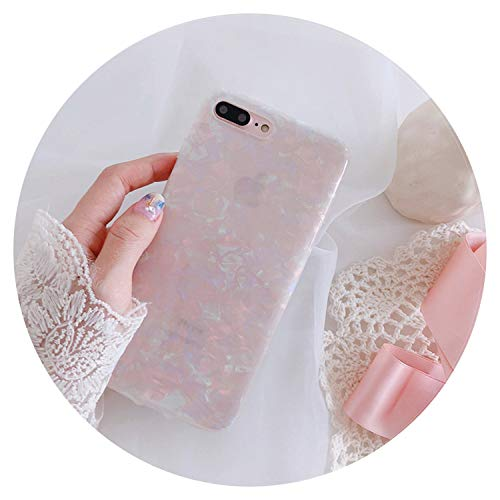 Carcasa de mármol para iPhone 8 7 Plus X 6 6S Plus funda soporte anillo soporte funda de silicona suave para iPhone 7, solo funda rosa, para iPhone 6 6S Plus
