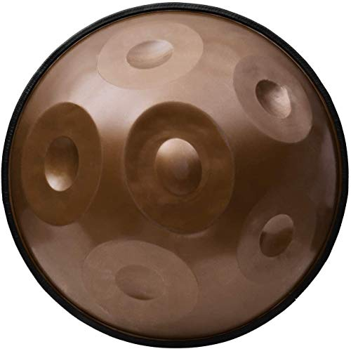 GOOCO Harmony Handpan Amara, Gepolsteter Tasche Und Baumwollhandschuhe, Steel Drum, Handgefertigt, Hochwertiges Percussioninstrument