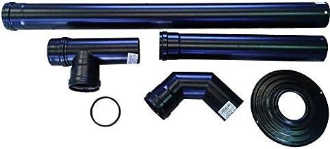Smalbo 9763412 Pronto-Pellet - Kit de tubos para pellets (diámetro 8 cm)