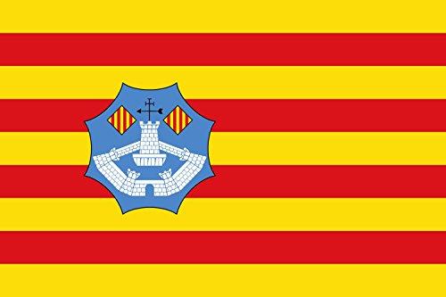 magFlags Bandera Large Menorca | Bandera Paisaje | 1.35m² | 90x150cm