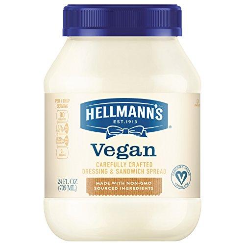 Hellmann's Vegan Dressing and Sandwich Spread, Carefully Crafted 24 oz