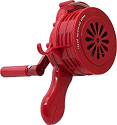 Vixen Horns VXS-1000P Portable Manual color red Siren. Best equipment to save yourself from disaster