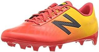 New Balance Boys' Furon V4 Soccer Shoe Flame Gold 5 W US Big Kid [並行輸入品]