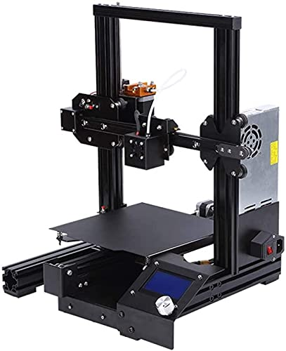 RSBCSHI 3D Printer, With Power Supply Resume Printing, Large Print Size 8.66×8.66×9.84Inch, Easy To Use, For Office, Dorm Room, Or The Classroom,Black