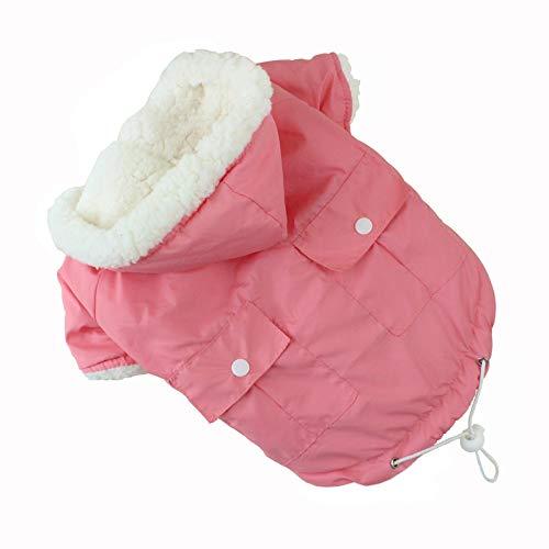 HCBDQQ HundemäNtel, Warme Kleidung FüR Den Hundewinter Sowie Warme Kleidung FüR Den Hundewinter Aus Samt, Winddichte Kleidung XL