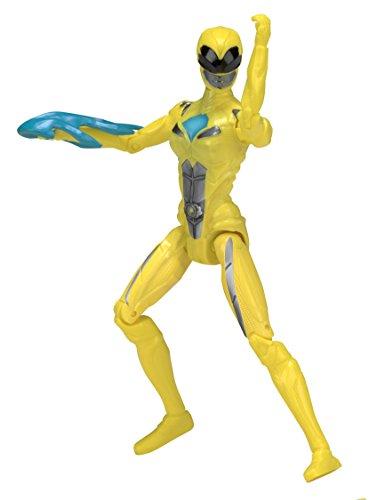 Power Rangers Movie - Figura de acción, Color Amarillo (Bandai 42604)