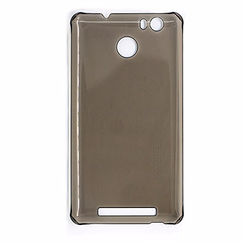 New Protective Hard Back Case Cover For LEAGOO Shark 1 6.0 inch Phone - Transparent Black