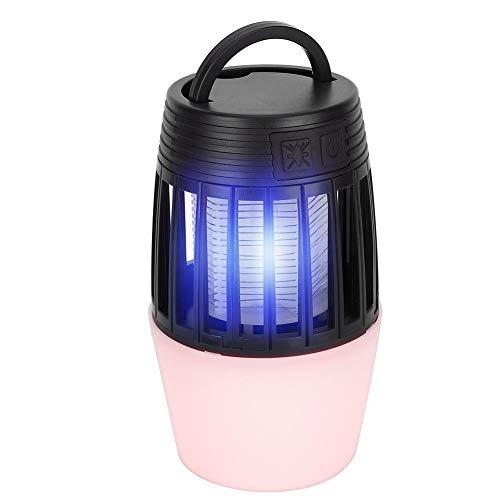LIUTT Lámpara asesina de Mosquitos - Lámpara asesina de Mosquitos eléctrica con Carga USB Lámpara LED Repelente de Mosquitos para Mujer bebé