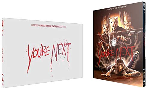 You're Next - Limited Edition Mediabook Cover Q wattiert (+ DVD) [Blu-ray]
