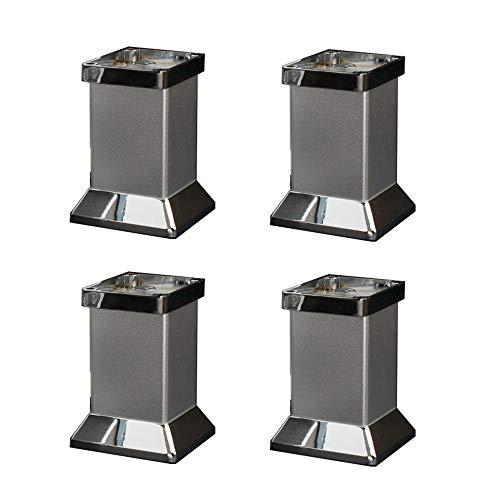 Pieds de meubles Ajustable en Alliage D'Aluminium - Quincaillerie D'Ameublement - Hauteur 80/100/120 / 150mm en Option