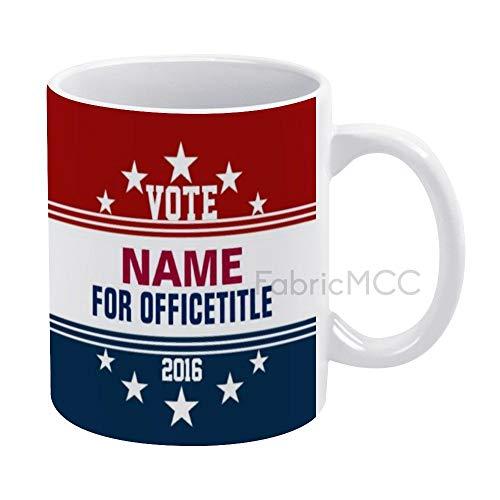 Lustige Kaffeetasse mit Vorlage für Kampagne, klassische Tasse, 325 ml