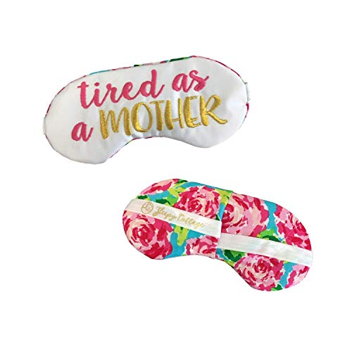 Tired as a Mother Satin Sleep Mask