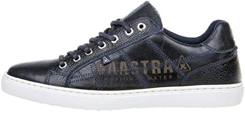 Gaastra Herren Sneaker Tiller Tumbled Leather Men Navy 45