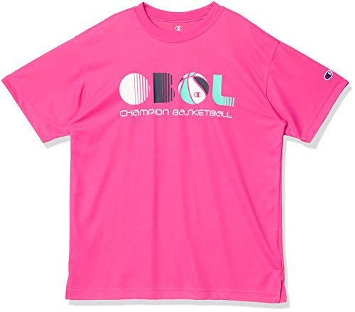 Champion(チャンピオン) (セール)Champion(チャンピオン)バスケットボール レディース 半袖Tシャツ WOMENS PRACTICE TEE CW-RB313 175 レディース チェリーピンク