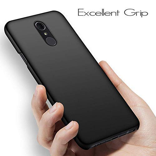 Zofone Case Soft Silicon Black Back Cover for LG Q Stylus Plus