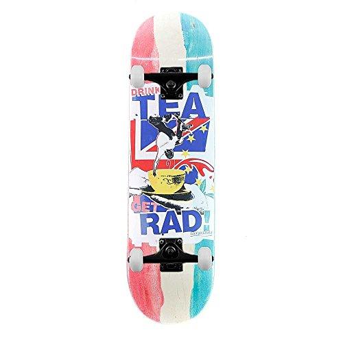 Lovenskate drink tea Get RAD skateboard più forte Brew complete skateboard multi 21,6cm
