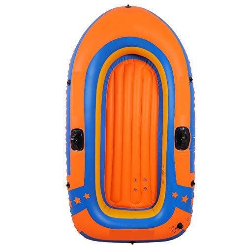 De Botes Inflables, Kayak Inflable De Balsa para 2 Personas, Bote De Pesca Portátil, Kayak con Remos Y Bomba De Aire