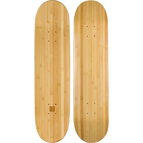Bamboo Skateboards Blank Skateboard Deck - POP - Strength - Sustainability (8.0