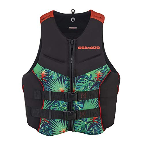 Sea-Doo 2021 Men's Airflow Life Jacket Ecoprene - Aloha Edition 285960