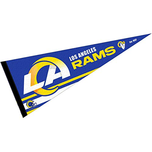 WinCraft Los Angeles Rams Pennant Banner Flag
