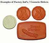 JBK Brown Sugar Savers - Factory Seconds (cosmetic defects) (Ceramic Helpers - 2 Brown Sugar Savers, Bread Warmer and a Pot Minder)