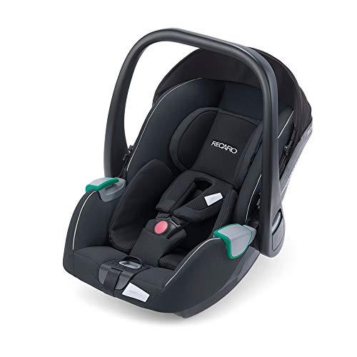 RECARO Kids, Babyschale Avan, i-Size 40-83 cm, Babyschale 0-13 kg, Kompatibel mit der Avan/Kio Base (i-Size), Verwendung mit Kinderwagen, Einfache Installation, Hohe Sicherheit, Prime Mat Black