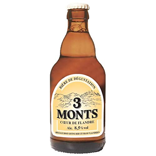 Bière blonde Trois Monts tradition 8.5° 33 cl 6 x 33 cl