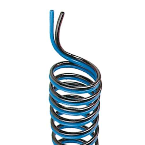 Thomafluid PUR-Spiral-Doppellumen-Chemieschlauch, Innen-Ø: 8 mm, Äußerer Spiral-Ø: 90 mm, Arbeitslänge: 10 m