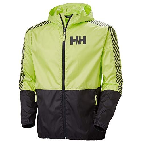 Helly Hansen Chaqueta cortavientos para hombre., Hombre, Chaqueta, 53442, verde, medium