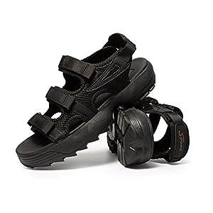 [arcx] サンダル ビーチサンダル コンフォートサンダル スポーツサンダル ファッションサンダル 夏春 マジック式 滑り止め 厚底 歩きやすい 疲れない オフィス アウトドア カジュアル メンズ 男性用