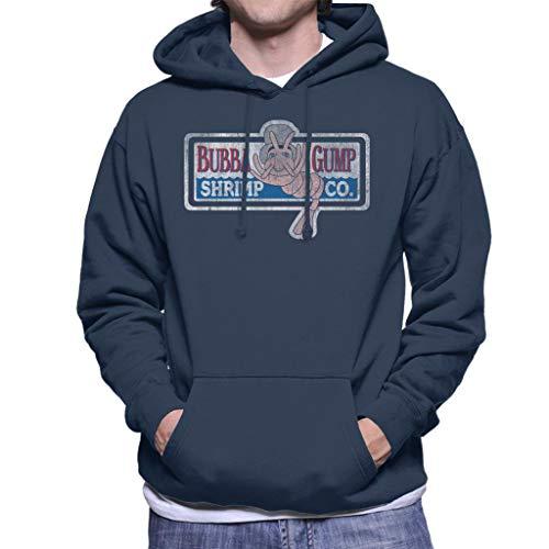 Cloud City 7 Forrest Gump Bubbas Shrimp Co Men's Hooded Sweatshirt