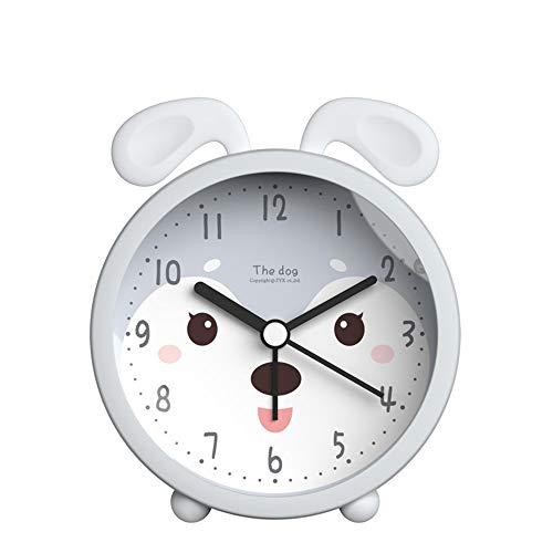Clock Time para Despertar El Reloj De Alarma para Los Niños, El Entrenador De Sueño para Niños, Los Niños Se Despiertan La Luz, La Máquina De Sonido del Sueño (款式 : A)