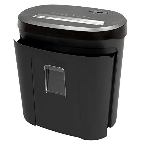 Sentinel Shredders FX140P 14 Sheet Crosscut Paper Shredder – Pullout Basket
