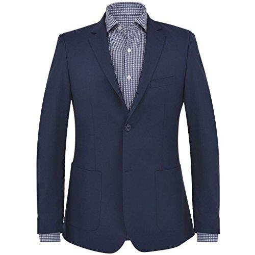 Geniet van winkelen met Zakelijke blazer voor mannen maat 46 marineblauw