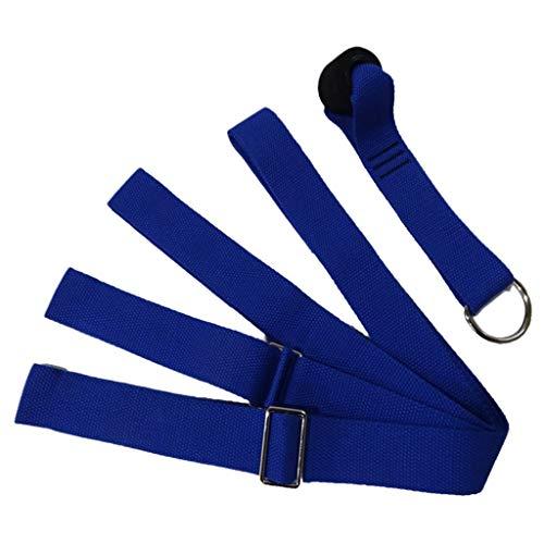 Haptian Tragbare Yogamatte Bindegürtel Krawatte Einstellbare Feste Riemenverschlüsse Outdoor Gym Workout Home Storage Supply